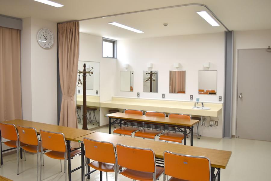 姫路市立北部市民センター:控室